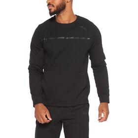 2XU Commute Crew Sweater Men, czarny